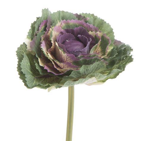 artificial decorative ornamental winter cabbage faux
