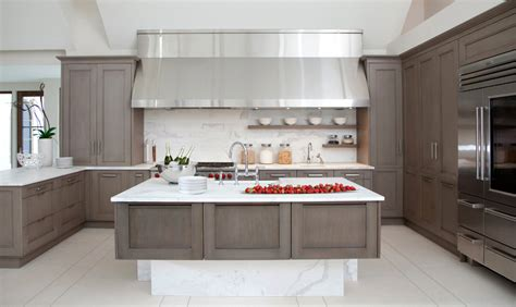 grey kitchen cabinets with gray in the kitchen home design and decorating ideas