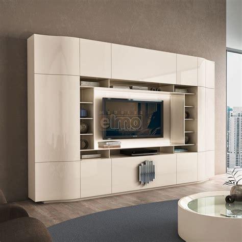 les meubles de la chambre meuble tv living design moderne portes push laque