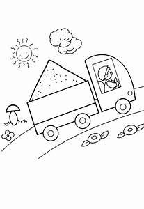 Ausmalbilder Baustellenfahrzeuge Kostenlos Malvorlagen