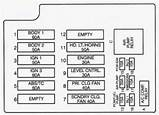2000 Cadillac Fuse Box Diagram