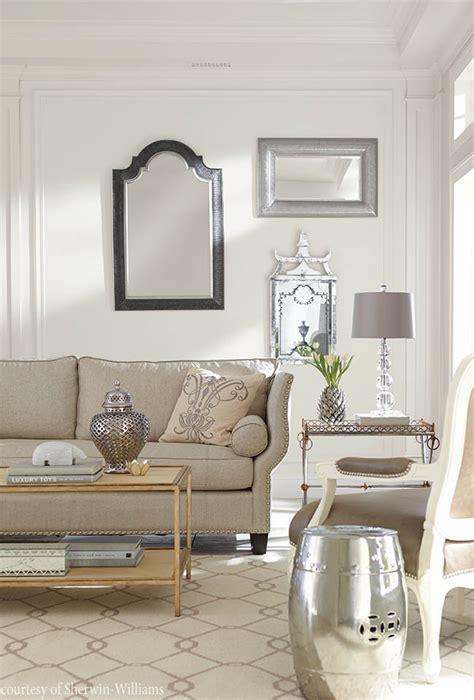 alabaster walls complement  sitting room