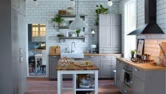 freestanding kitchen island unit traditionellt grått u format ikea kök design och idéer