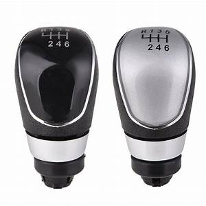 6 Speed High Quality Durable Manual Car Gear Shift Knob
