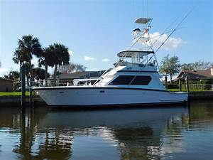 1989 Hatteras 48 Convertible Power Boat For Sale