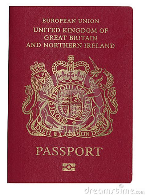 uk passport royalty  stock  image
