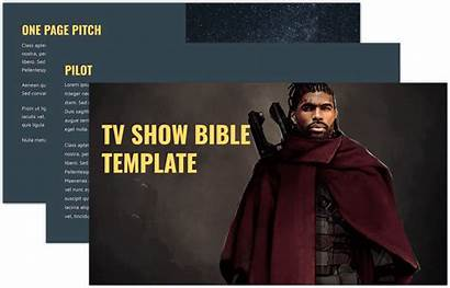 Pitch Bible Tv Template Create Sells Stacked
