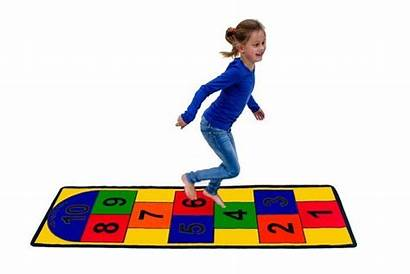 Hopscotch Play Mat Toys Carpet Carpets Sensory