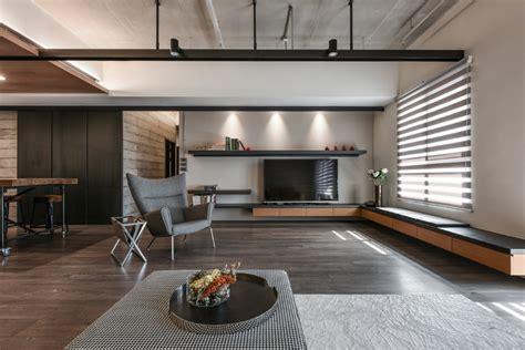 palette  wood metal  concrete   apartment