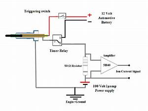 Ion Current And Glow Plug Electrical Circuit