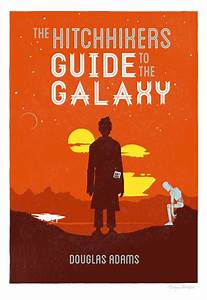 Books  By Their Covers  Hitchhikers Guide