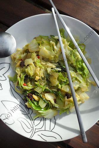 cuisiner choux chinois poêlée de chou chinois à l asiatique