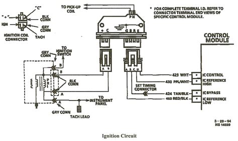 3 Wire Distributor Wiring Diagram by I A 96 Chevy Blazer With A Small Cap Hei Distributor