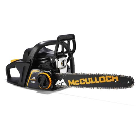 Mcculloch 36 cc Cordless Petrol Chainsaw   Departments