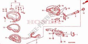 Meter For Honda Vtx 1300 2005   Honda Motorcycles  U0026 Atvs