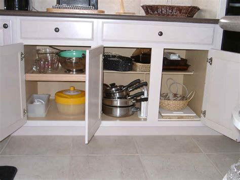 kitchen cabinet organization  outs roll outs
