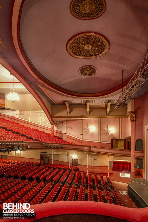 futurist theatre scarborough uk urbex  closed