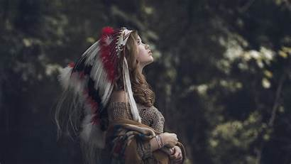 Native American Americans Headdress Wallpapers Clothing Nature