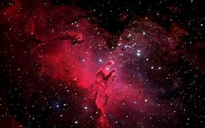 Pink Nebula Galaxy Space Wallpaper - Pics about space