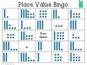 Place Value Game Place Value Bingo By 1st Grade Salt