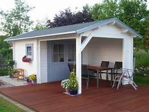 Gartenhaus Mit Vordach : gartenhaus m 08 218 gsp blockhaus ~ Udekor.club Haus und Dekorationen