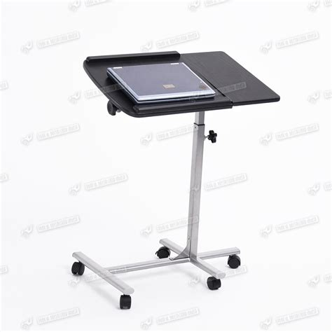 stand up computer desk on wheels height adjustable mobile computer desk laptop tray table