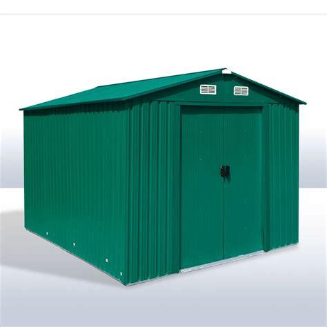Gerätehaus  Gartenhaus Leeds Metall 48 Qm
