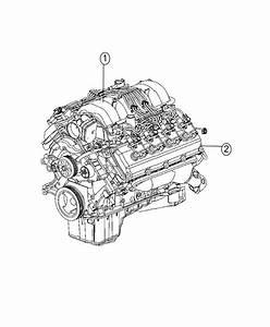 2017 Dodge Challenger Engine  Long Block  Service