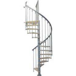 Escalier Colimacon Leroy Merlin by Escalier Colima 231 On Rond Nice Bois M 233 Tal Gris Leroy Merlin