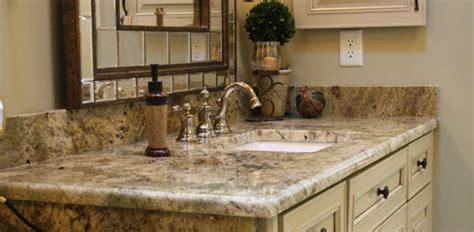 bathroom vanity countertop options