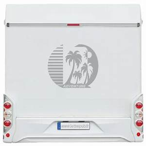Deco Camping Car : sticker d co droite dca27 sarl lettrepub ~ Preciouscoupons.com Idées de Décoration