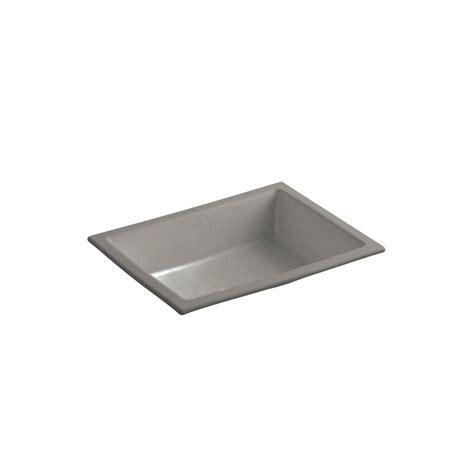 kohler verticyl vitreous china undermount bathroom sink