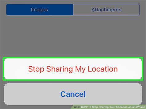 how to your location on iphone how to stop your location on an iphone 9 steps