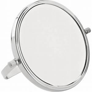Miroir Grossissant X10 : achat en ligne miroir grossissant x10 en m tal poser de ~ Carolinahurricanesstore.com Idées de Décoration