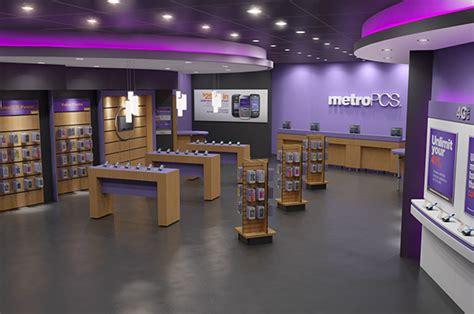 metro phone company metropcs store design on behance