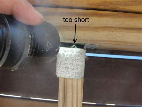 Deck Joist Hanger Nails  Deck Design And Ideas