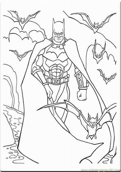 Batman Coloring Pages Joker Beyond Knight Dark