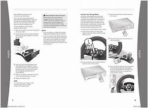 Microsoft Wrw01 Xbox 360 Wireless Racing Wheel With Force