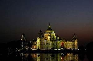 Victoria Memorial Hall,Calcutta at Night