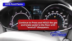 2015 Ford Fiesta Oil Light Reset    Service Light Reset