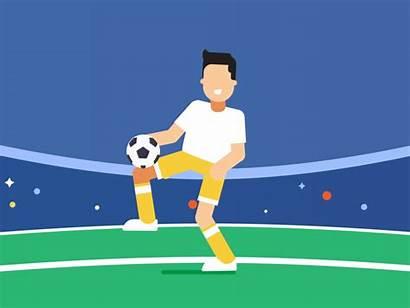 Juggling Football Dribbble Oliver King Don Smart