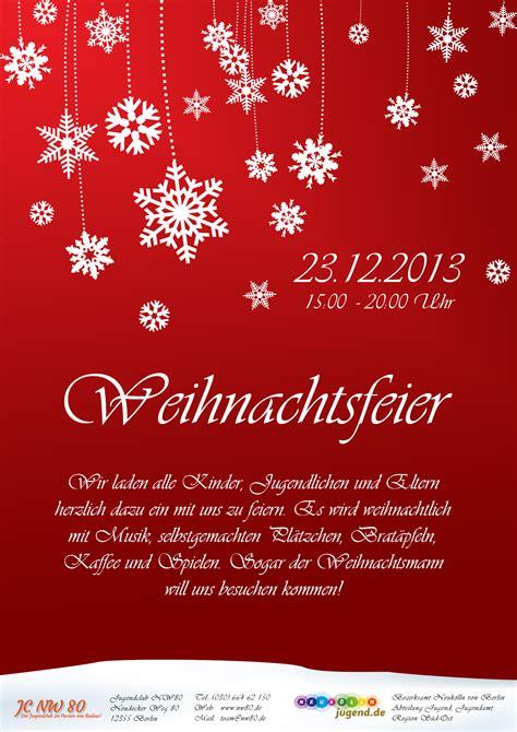 weihnachtsfeier  jugendclub nw berlin rudow