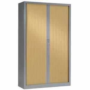 Armoire à Rideaux : armoire haute rideaux gc bi color lemondedubureau ~ Teatrodelosmanantiales.com Idées de Décoration