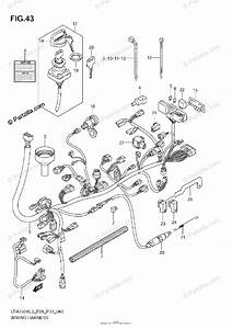 Suzuki Atv 2013 Oem Parts Diagram For Wiring Harness  Lt