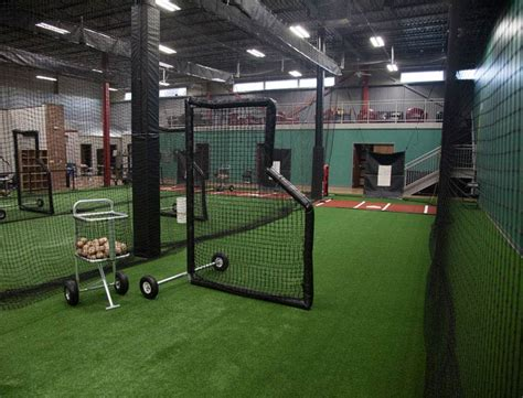 deck batting cages indoor batting cages for baseball softball on deck sports