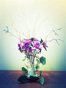 My DIY flower centerpiece for a masquerade event I'm doing