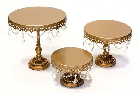 gold cake stand cake candy geyer wedding and event rentals