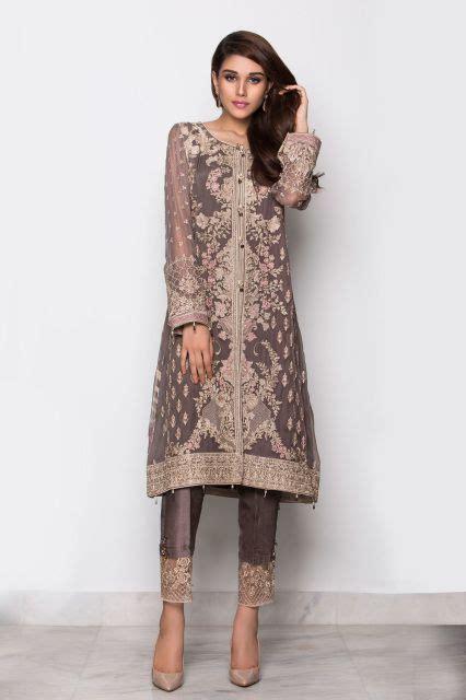 embroidered chiffon latest pakistani salwar suit