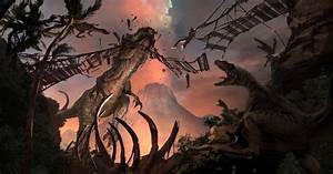 Jurassic World Concept Art Leaks Scenes That Almost Made ...