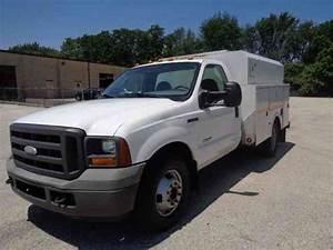 Ford F350 F450 F550  2005    Utility    Service Trucks